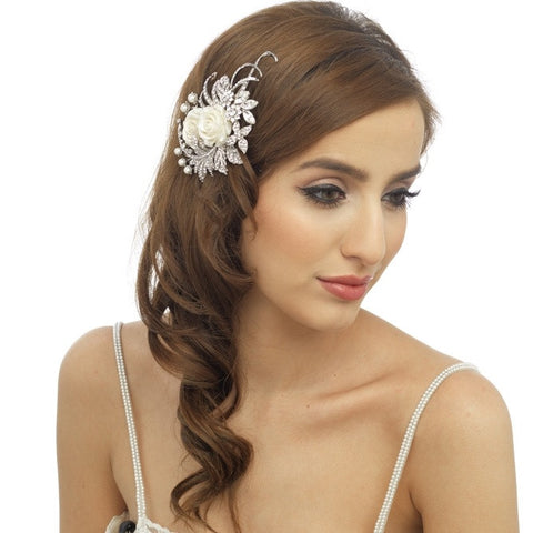 Bethan Floral Hair Piece