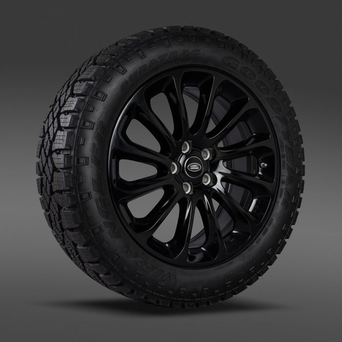 "Genuine Land Rover Style 1065 20"" Alloy Wheels & Tyres"