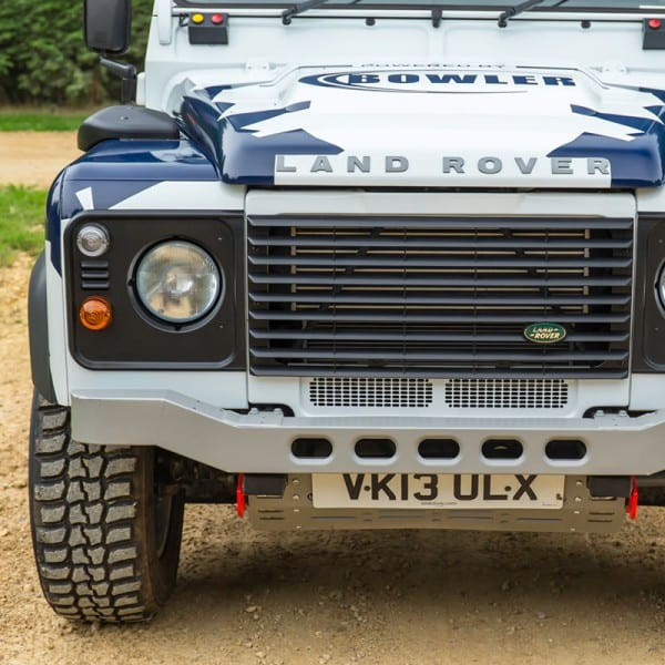 Bowler Motorsport Defender Light Weight Front Bumper - Race