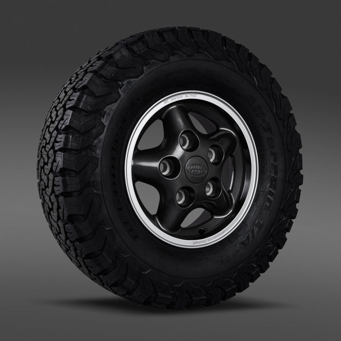 Genuine Land Rover Defender 50th Anniversary V8 Alloy Wheels & Tyres x5