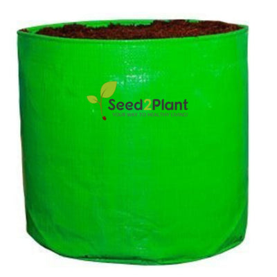 HDPE Round Grow Bag - 9x9 Inches (¾x¾ Ft) - 220 GSM