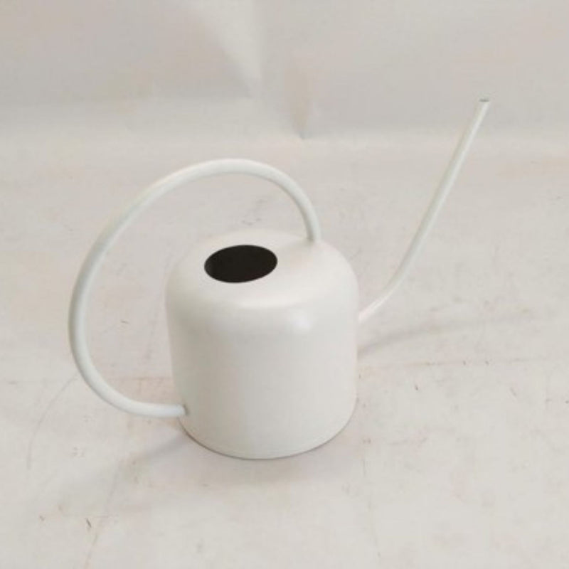 Metal Watering Can - White Colour