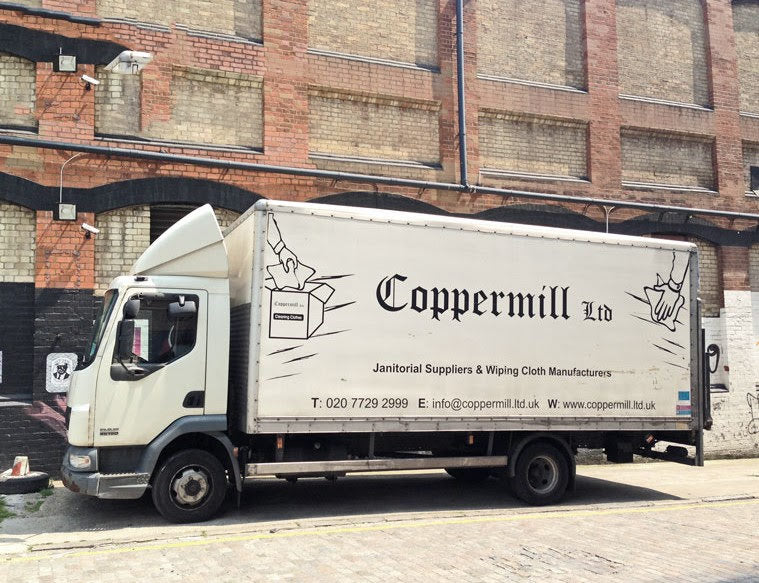 Coppermill Ltd Textile Collection Lorry