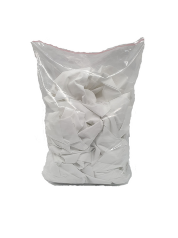 1kg White Sheeting Cleaning Rags Bag