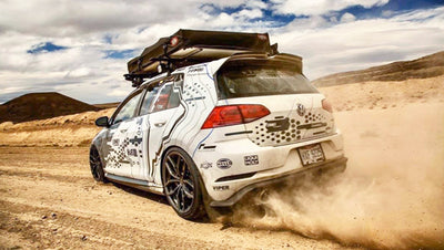 ECS Tuning - RallyWagen Slammed Through South America