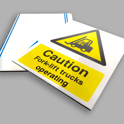 Aluminium Composite Sign - Direct Printed - Printed Agility