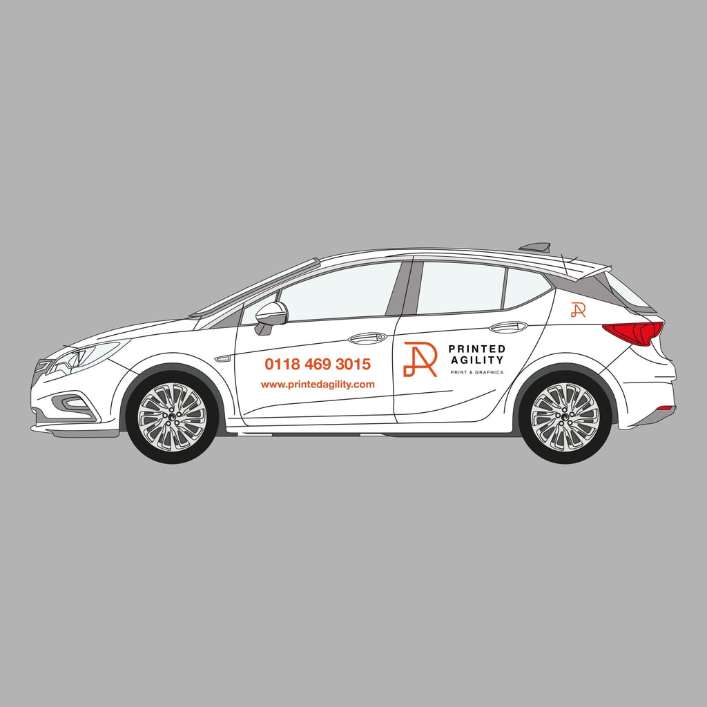 Car Derived Van | Sign Writing - Printed Agility