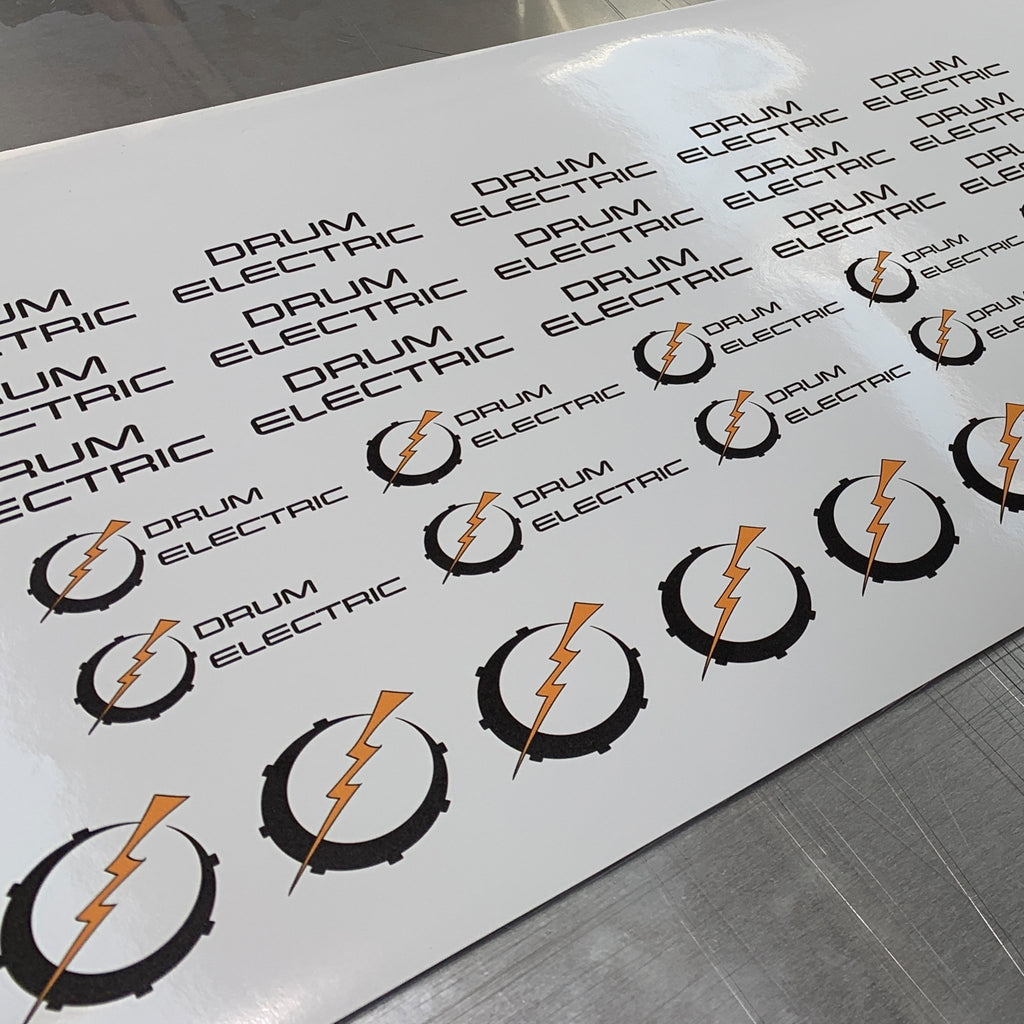 Custom Stickers - Circle - Printed Agility
