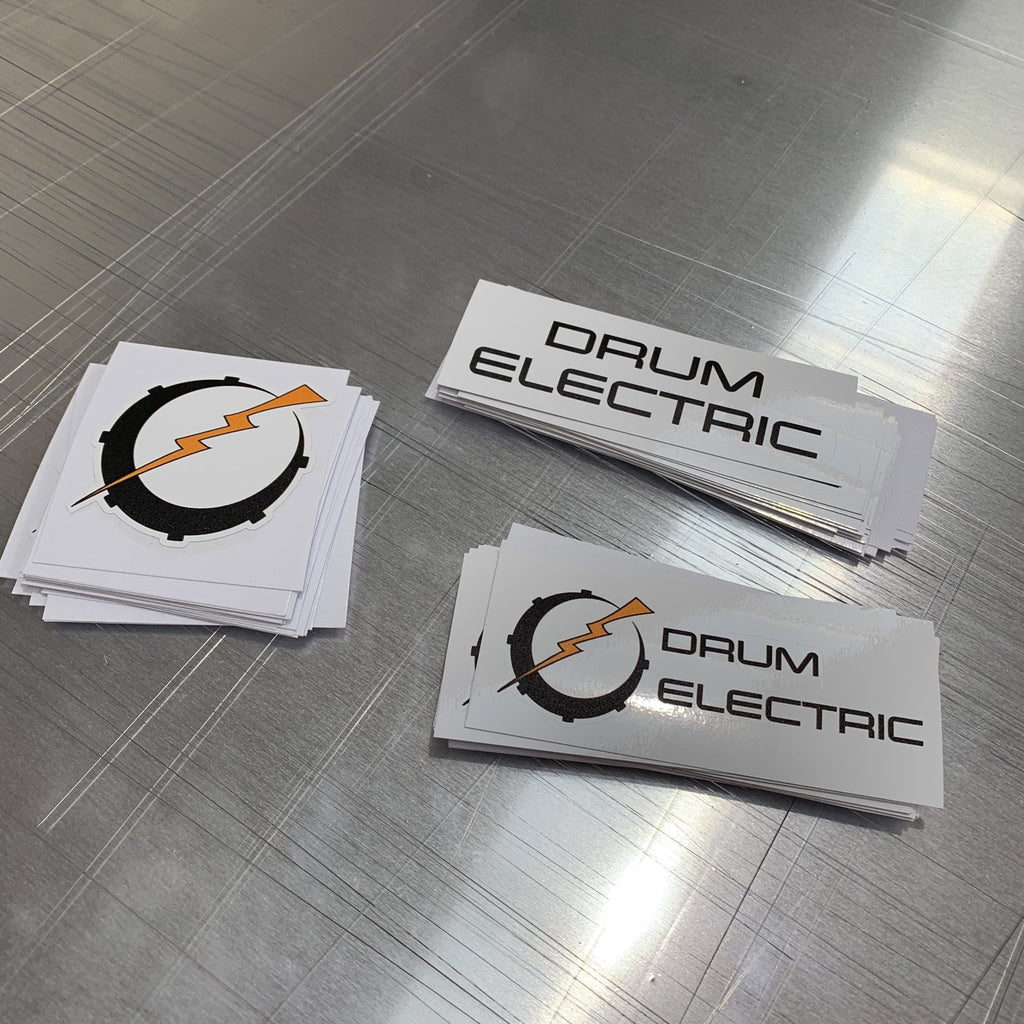 Custom Stickers - Square - Printed Agility