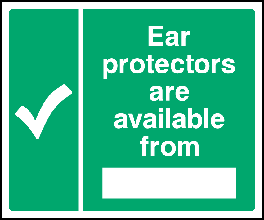 Ear Protectors Are Available From Sign - Printed Agility