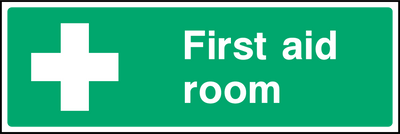 First Aid Room Sign - Printed Agility