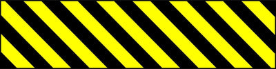 Hazard Marker (Right Hand) Sign - Printed Agility