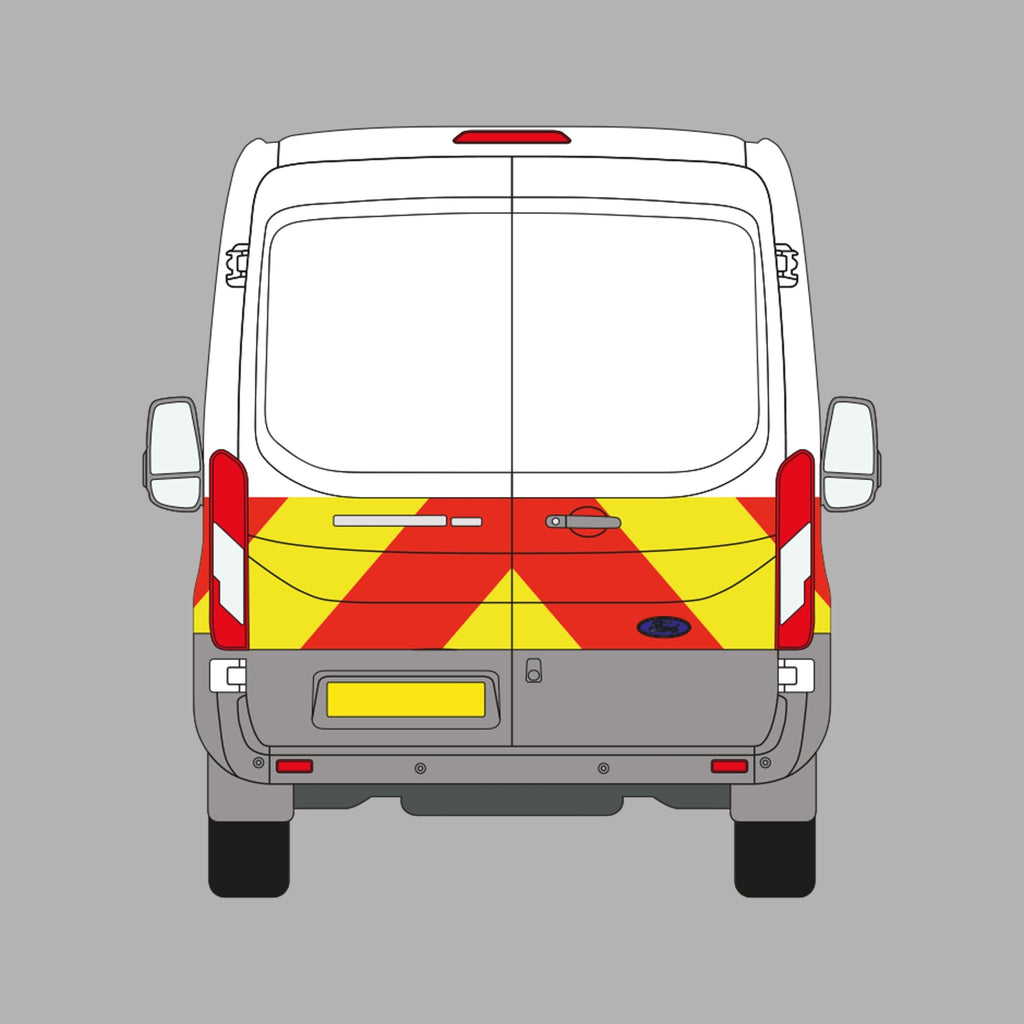 Long Wheel Base Van Sign Writing - Printed Agility