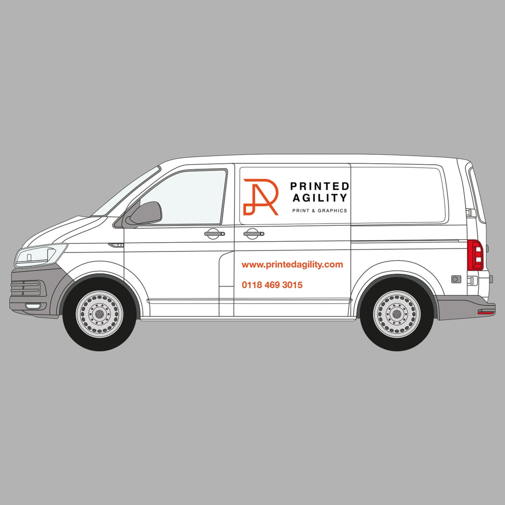 Medium Van Sign Writing - Printed Agility
