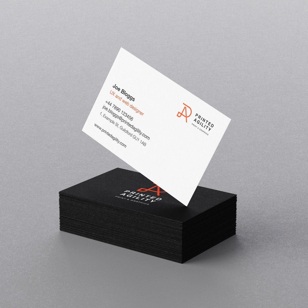 Premium Business Cards - Printed Agility