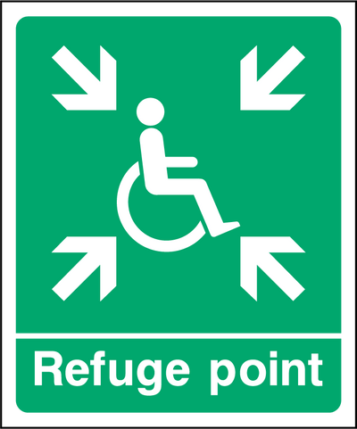 Refuge Point Sign - Printed Agility