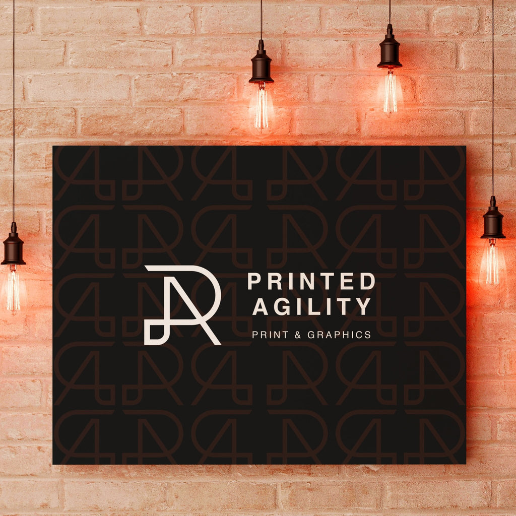 Slim Canvas Framed Pictures - Printed Agility