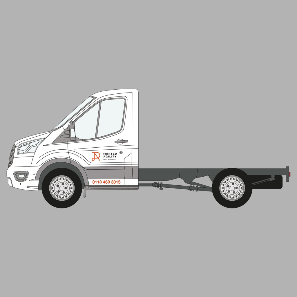 Tipper / Flat Bed Truck Sign Writing - Printed Agility