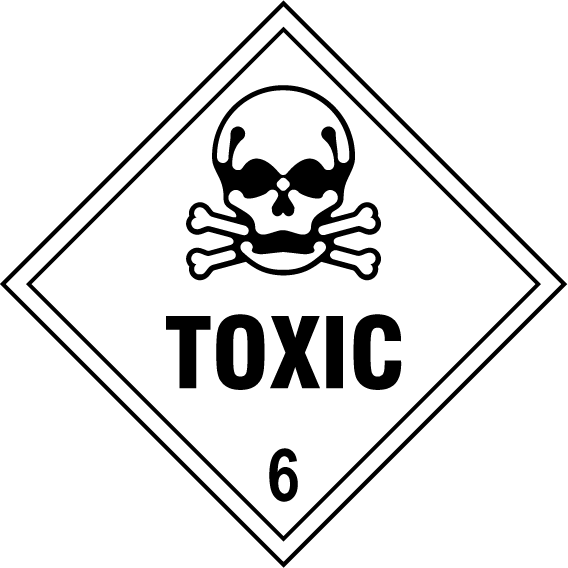 Toxic 6 Sign - Printed Agility