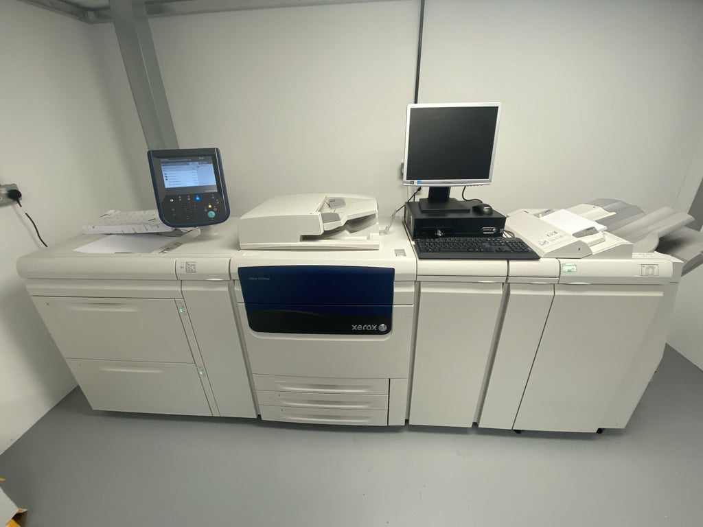 Xerox Colour J75 Press - Printed Agility