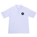 White Short-sleeve Polo(Boys)