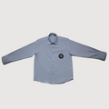Light Blue  Shirt Long-sleeve(Boys)