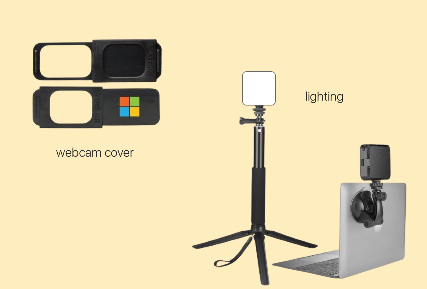 Custom Branded Merchandise and Video Conference Accessories for Zoom Calls