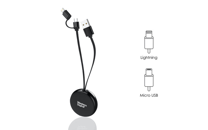 AURORA Charging Cable (2-in-1)