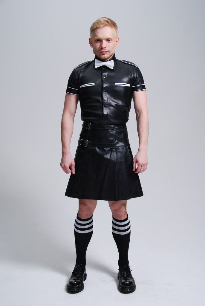 FM Leather Kilt