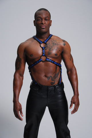 Y Harness with Suspender Straps