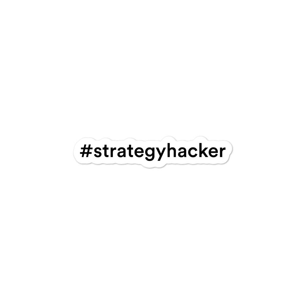 #strategyhacker Stickers