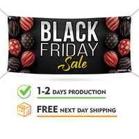 Black Friday Sale Banner Sign