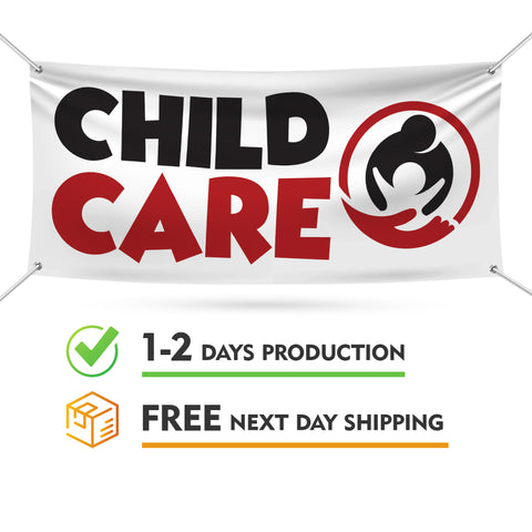 Child Care Banner Sign