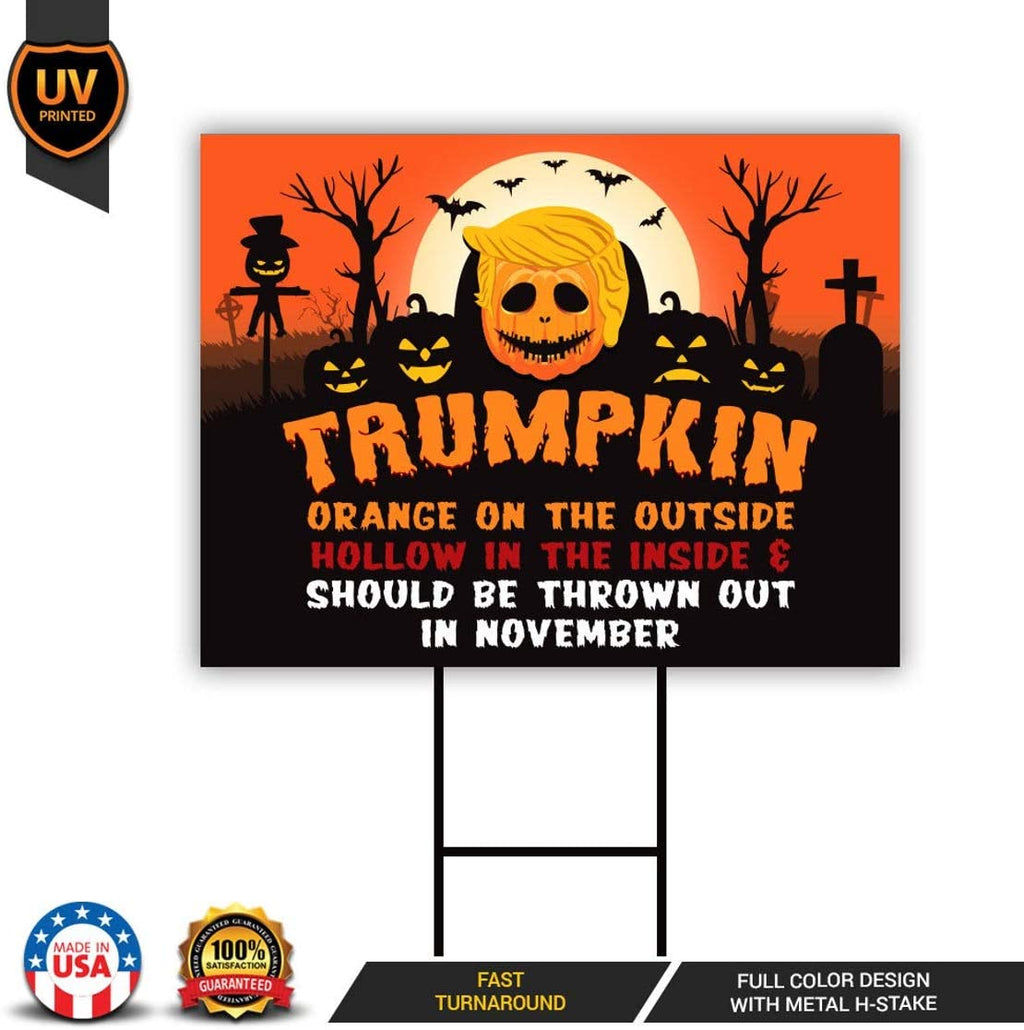 Trumpkin Yard Sign