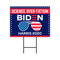 Science Over Fiction 2020 Yard Sign