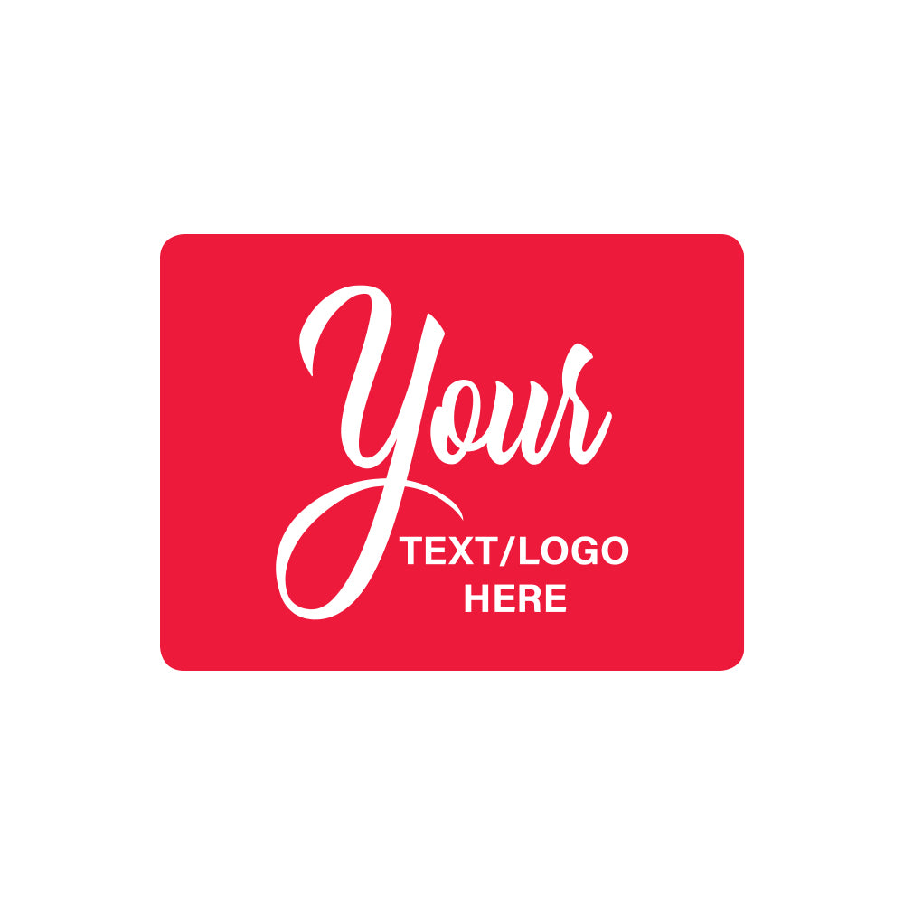 "Custom Rectangle Stickers - 3.5"" X 2.5"""