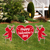 Valentines Day Yard Sign
