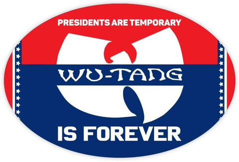 Wu-Tang is Forever 2020 Bumper Sticker Vinyl Decal