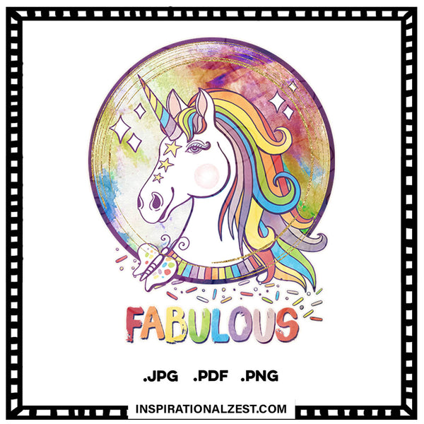 Fabulous Rainbow Unicorn