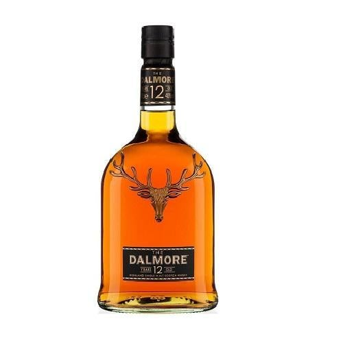 The Dalmore Scotch Single Malt 12 Year - 750ML