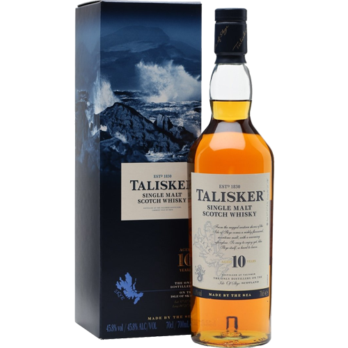 Talisker Scotch Single Malt 10 Year - 750ML