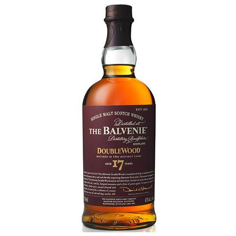 Balvenie Scotch Single Malt 17 Year Doublewood - 750ML