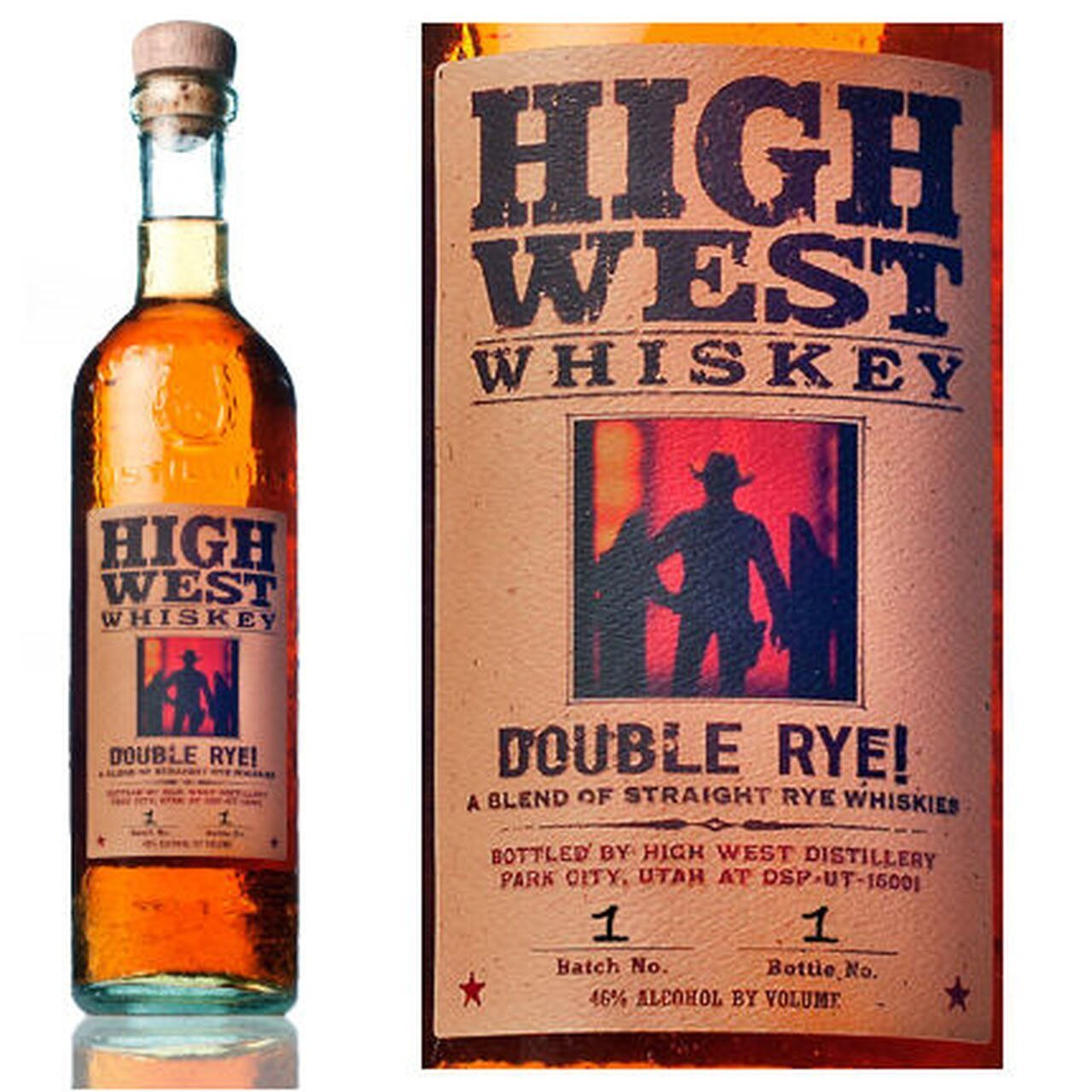 High West Whiskey Double Rye - 750ML