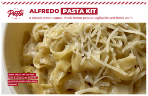 Lemon Pepper Alfredo Pasta Kit #datenight