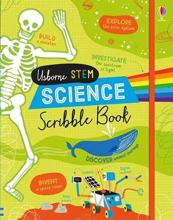 Usborne STEM Science Scribble Book