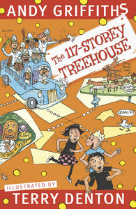 The 117-Storey Treehouse by Andy Griffiths and Terry Denton