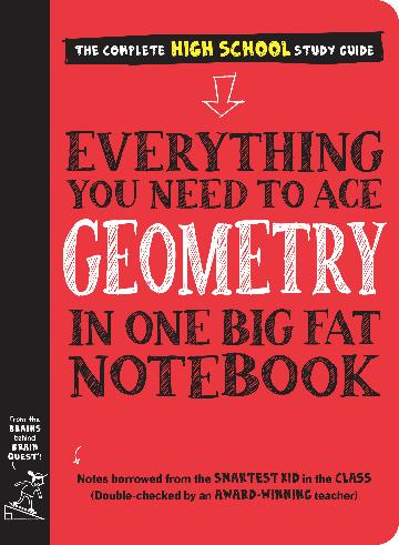 Big Fat Notebook - Geometry - The Complete Hight School Study Guide