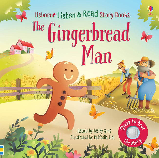Usborne Listen and Read Story Books The Gingerbread Man