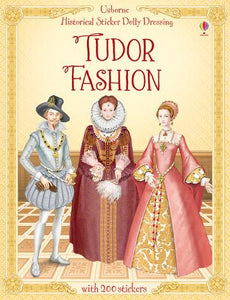 Usborne Tudor Fashion Sticker Book