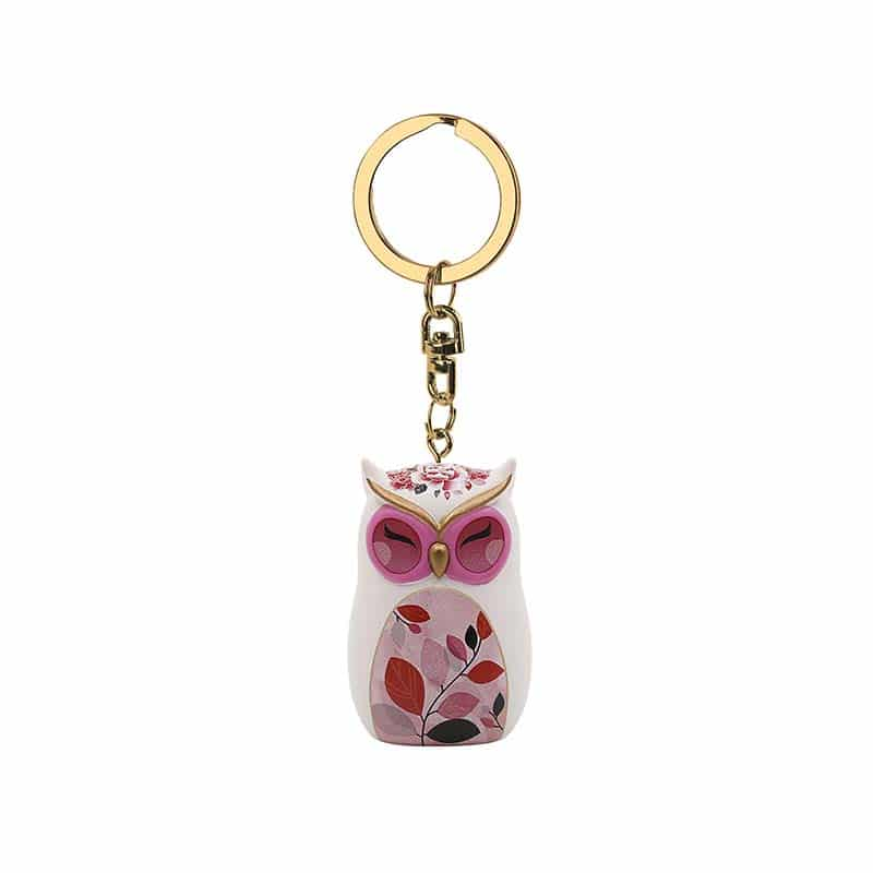 Wise Wings Wisdom Begins with Wonder Keyring